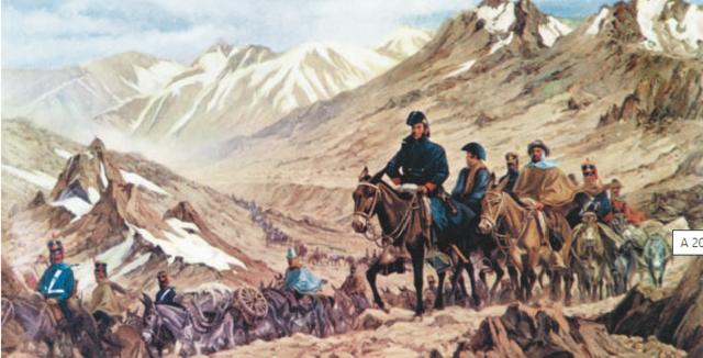 San Martín y las campañas revolucionarias