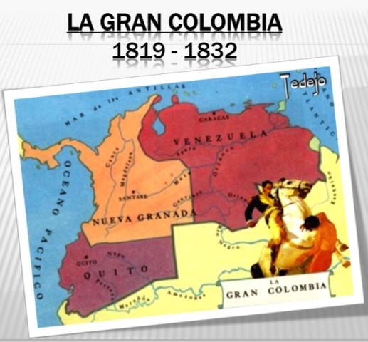 Simón Bolívar y la Conformación de la Gran Colombia