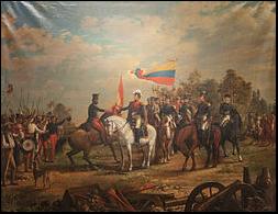 Independencia de Venezuela y Nueva Granada