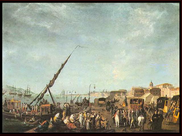 Traslado de la corte portuguesa a Río de Janeiro.