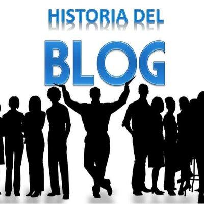 La historia del blog  timeline