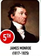 James Monroe #5