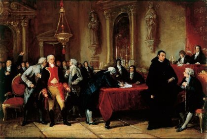 Autorizaciòn de la corona española