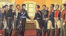 Gobiernos que cimentaron a Bolivia (1825 - 1841). timeline