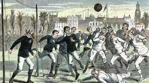 Primer Partido Internacional De Fútbol