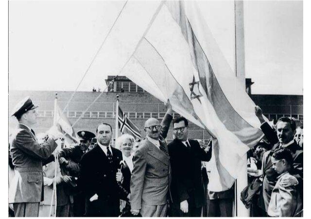Se estableció formalmente el estado de Israel gracias al respaldo de Gran Bretaña y Estados Unidos.