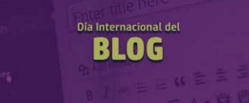 Día internacional del blog