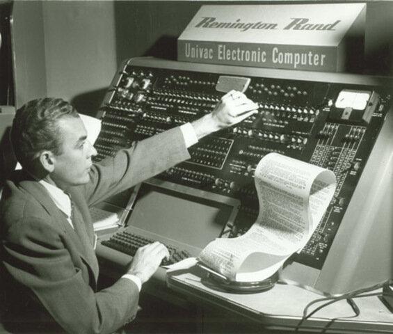 La UNIVAC predice el resultado de las elecciones