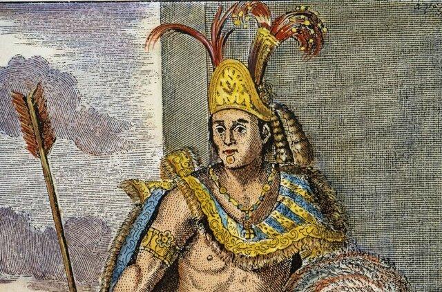 Mensaje de Moctezuma