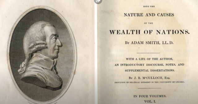 """""""Wealth of nations"""" Adam Smith"""