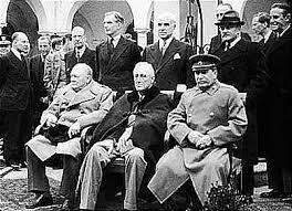 La conferencia de Yalta.