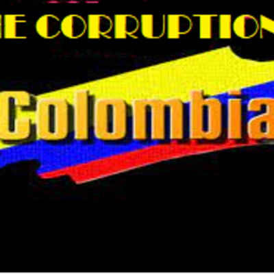 THE CORRUPTION COLOMBIA timeline