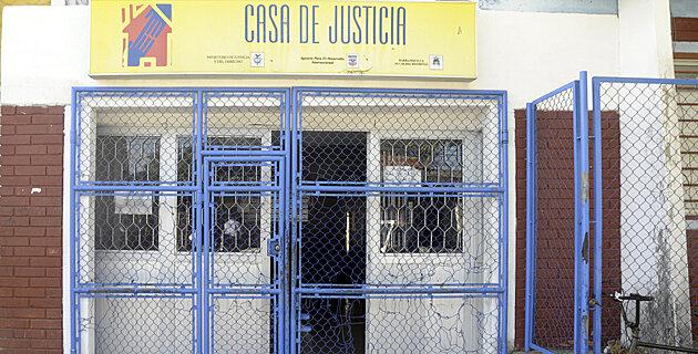 PRIMERA CASA DE JUSTICIA  2001