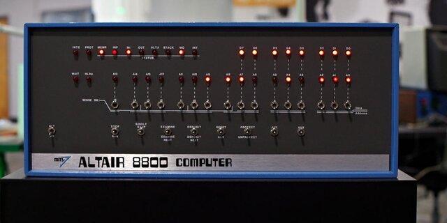 Cuarta generacion (Altair 8800)