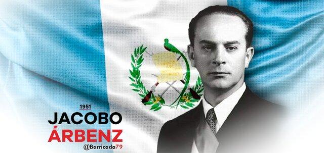 Derrocamiento del Presidente de la Republica de Guatemala Jacob Arben