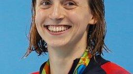 Katie Ledecky swam timeline