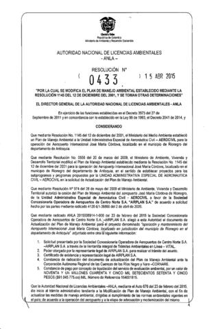 decreto 0433