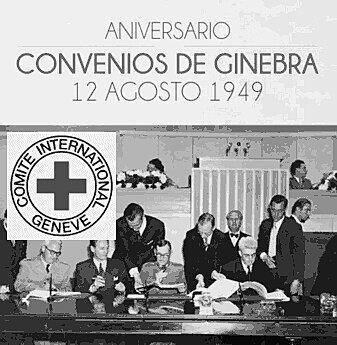 CONVENCION DE GINEBRA EN DONDE SE ACTUALIZARON ACUERDOS