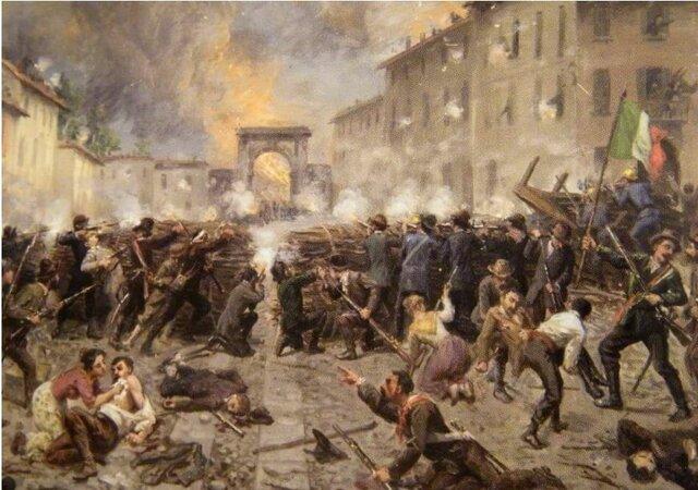 Scoppio Rivolta popolare a Palermo