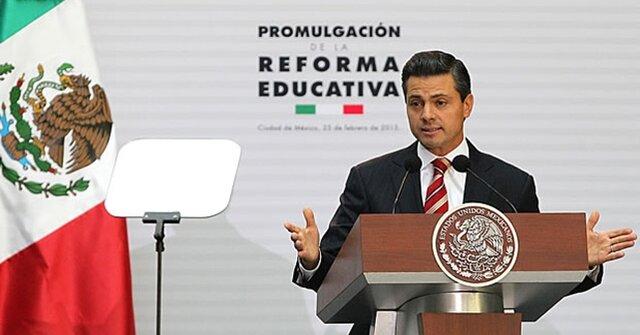 REFORMA EDUCATIVA  El presidente Enrique Peña Nieto promulgó la reforma a la Ley General de Educación, la Ley del Instituto Nacional para la Evaluación de la Educación y la Ley General del Servicio Profesional Docente.