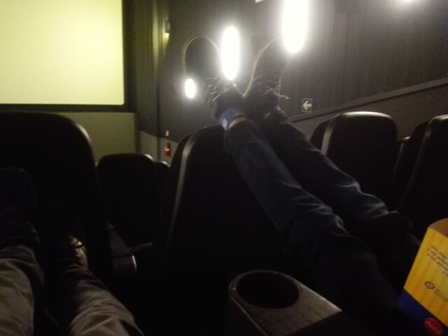 My third  time in the cine