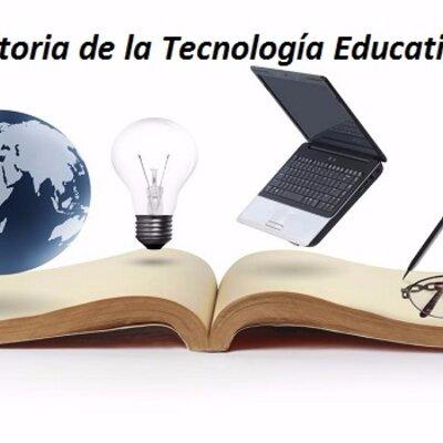 Tecnología educativa:su evolución histórica y su conceptualización. timeline