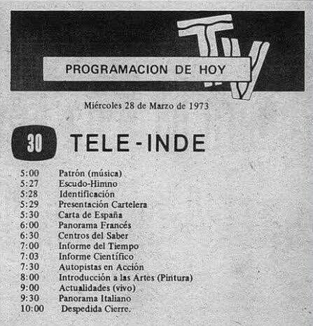 Primer canal UHF