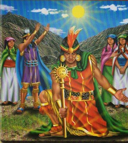Origen de los Incas según leyendas y mitos