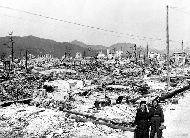Atomic Bomb in Hiroshima & Nagasaki