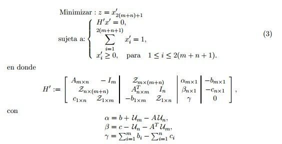 Algoritmo de punto interior