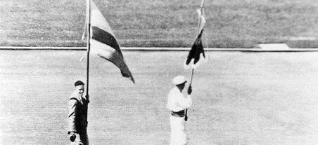 Primera participación de Colombia en los Juegos Olímpicos