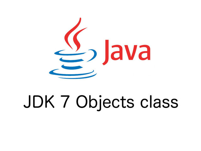 JDK 7 Project ha sido terminado.