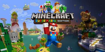 Minecraft crosses over with Super Mario
