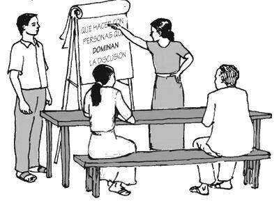 Lideres comunitarios como conciliadores