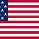 Flag stars and stripes may 1 1795