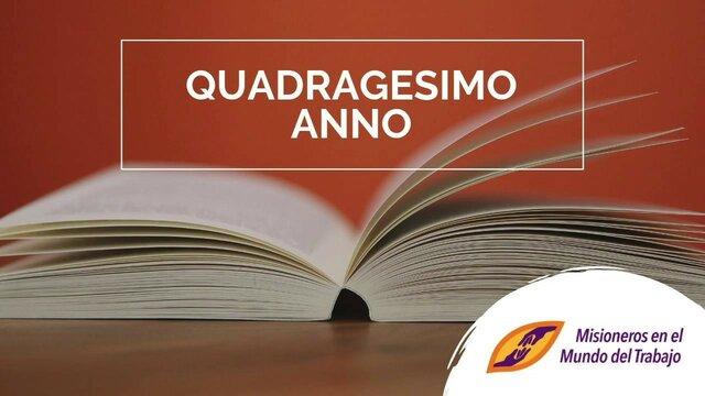 Quadragesimo Anno