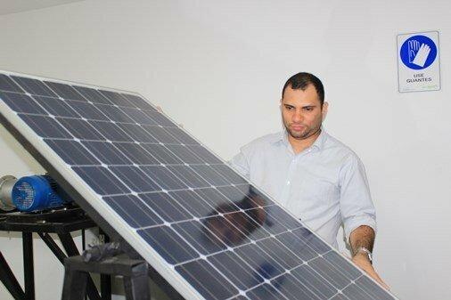 Laboratorio de Energías Renovables en Montería