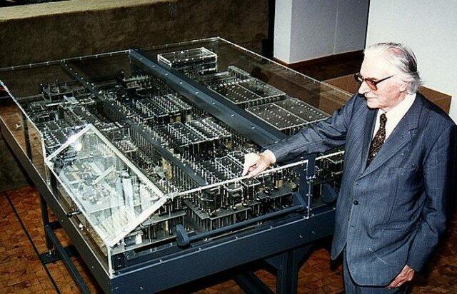 Se crea la primer computadora.