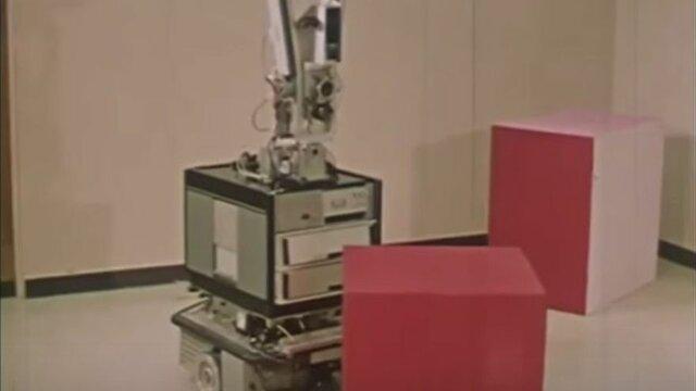Shakey, el primer robot inteligente