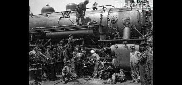 Movimiento ferrocarrilero