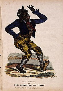 Thomas D. Rice (the father of blackface)