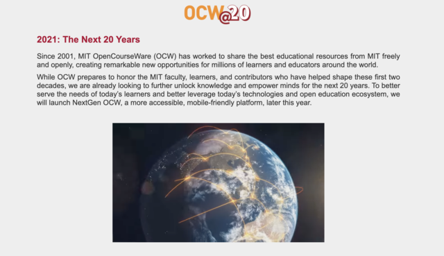 OCW by MIT