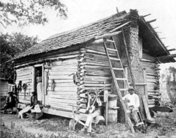 The freedmens bureau established