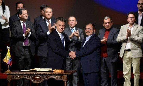 Firma de los Acuerdos de Paz