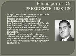 Gobierno de Emilio Portes Gil