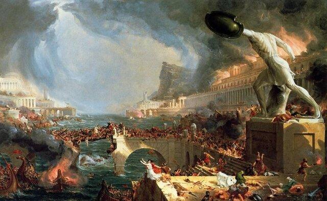 Caída del imperio romano occidental