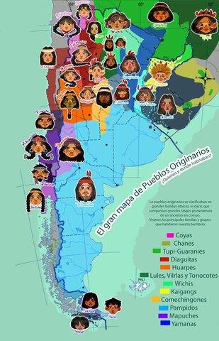 Pueblos originarios del teritorio argentino.