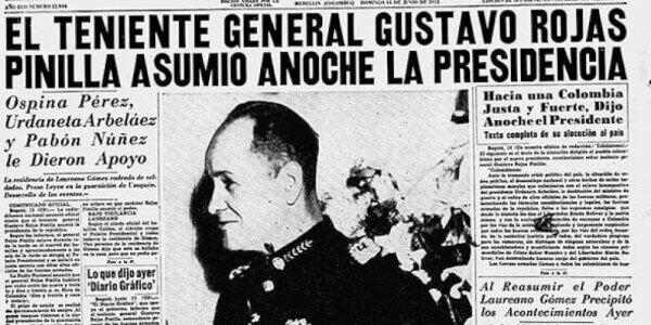 Golpe de Estado del general Rojas Pinilla
