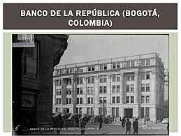 Contraloría General y Banco de la Republica
