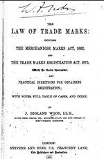 Ley de Registro de Marcas Comerciales.